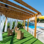Mostar Villas - Villa Filipovic - Terrace with the pool