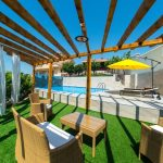 Mostar Villas - Villa Filipovic - Terrace with the swimming pool 3