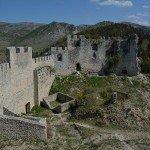 Stjepan Grad or Blagaj Fortress in Blagaj near Mostar