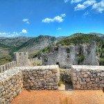 The top of the Blagaj Fort - Stjepan Grad in Mostar