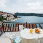 Villa Adrie Neum Adritic Sea - enjoy breakfast with the view on Adriatic Sea