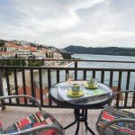 Villa Adrie Neum adritic Sea - balcony view