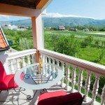 Villa Salma in Blagaj amazing view from the terrace