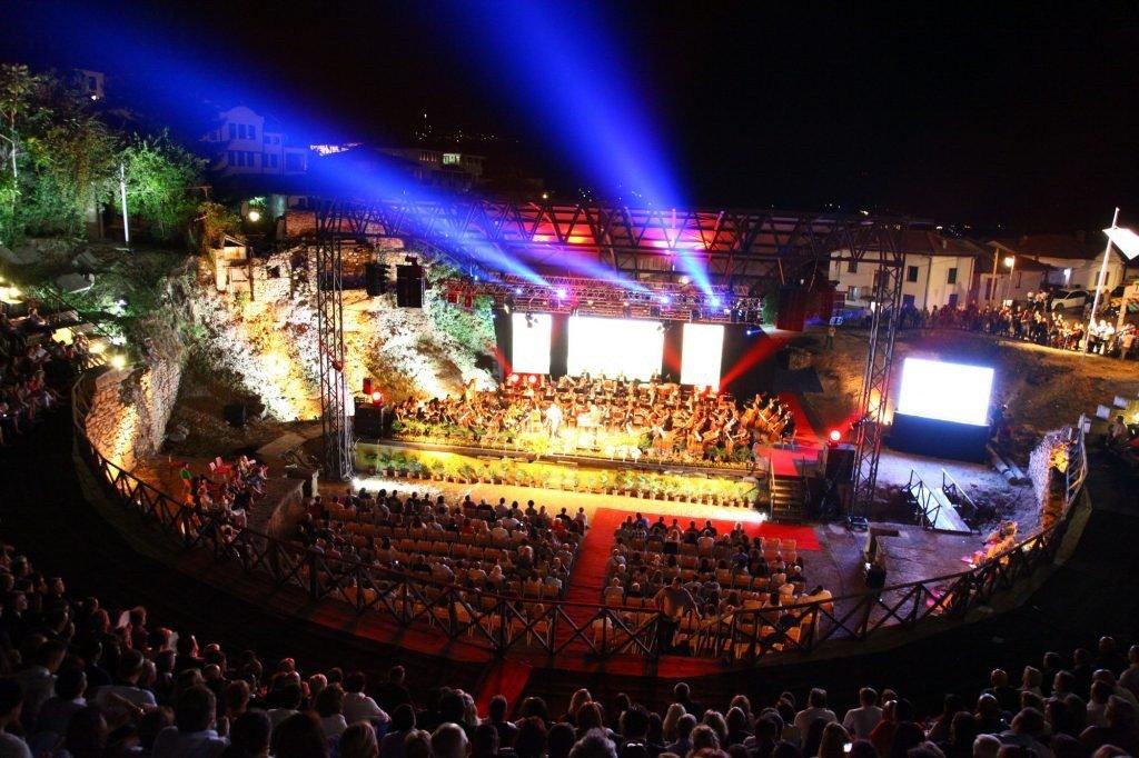 Summer Festival in Ohrid