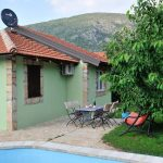 Vacation Home in Mostar Buna Little Paradise with open swimming pool - garden view with sitting area
