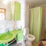Luxury Villa Verde Kosor Barhroom Green