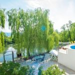 Luxury Villa Verde Kosor Barhroom Master Garden with swimming pool
