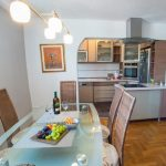 Rooftop Terrace Apartment Mostar Old Town Kitchen and Dining Area