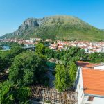 Rooftop Terrace Apartment Mostar Old Town View