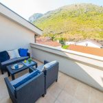 Mostar Studio Apartment Morning Star near Old Bridge Living Room and Bedroom Bedroom with Terrace View