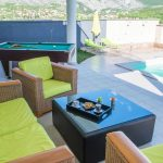 Luxury Villa Horizon Blagaj Mostar Kosor -Villa with swiming pool - Siting area in front of the house 1