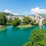 Old Bridge Apartment 1 | UNESCO Terrace View to Neretva river