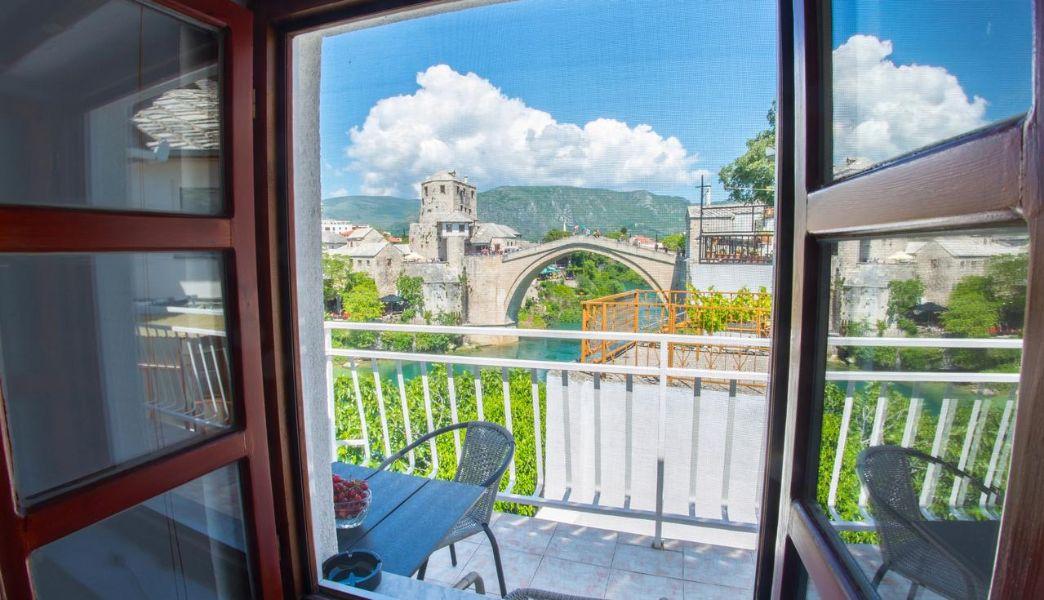 Old Bridge Apartment 1 | UNESCO Mostar Terrace