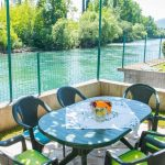 Mostar Villas - Villa Idila Buna Mostar / Open swimming pool and private river beach Outside Sitting area
