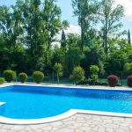 Mostar Villas - Villa Idila Buna Mostar / Open swimming pool and private river beach Garden with pool 2