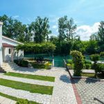 Mostar Villas - Villa Idila Buna Mostar / Open swimming pool and private river beach Garden with stairs to beach 2