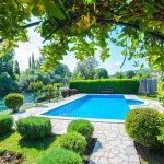 Mostar Villas - Villa Idila Buna Mostar / Open swimming pool and private river beach Garden