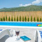 Mostar Villa - Villa King's Garden just minutes from Bčagaj Tekke - Villa with open swimming pool - swimming pool nad the deck